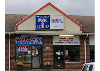 Orangeville fish and chip Broadway Fish & Chips
