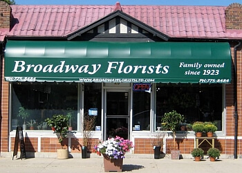 Winnipeg florist Broadway Florists