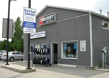 Guelph car repair shop Brock Road Garage Tirecraft