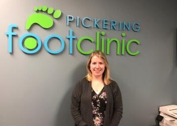 Pickering chiropodist  Brooke Mitchell, DCH