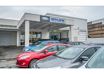 Vancouver car dealership Brown Bros Ford