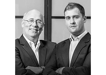 Norfolk mortgage broker Bryan Slaney and Jarrett Slaney