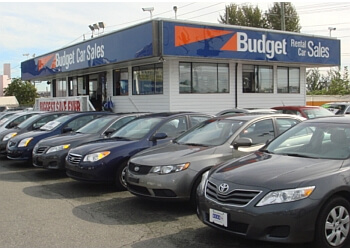 Vancouver used car dealership Budget Car Sales