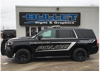 Belleville sign company Bullet signs & Autographics Inc.