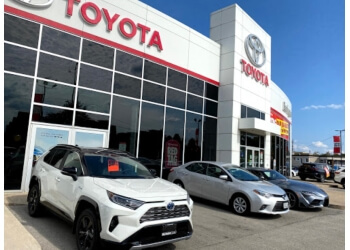 Burlington car dealership Burlington Toyota