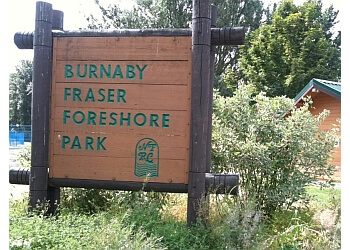 Burnaby public park Burnaby Fraser Foreshore Park