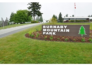 Burnaby Mountain Park Trail