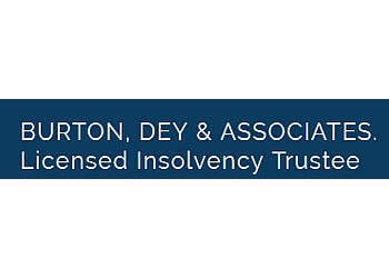Whitby licensed insolvency trustee Burton, Dey & Associates Ltd.