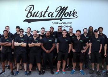 Montreal entreprises de déménagement Bust a Move
