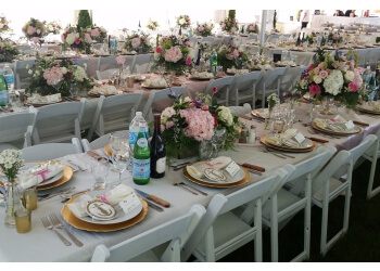 Kingston event rental company Bustini's Event Rentals