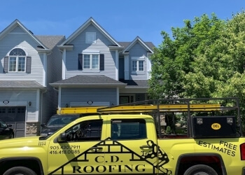 Whitby roofing contractor C D Roofing