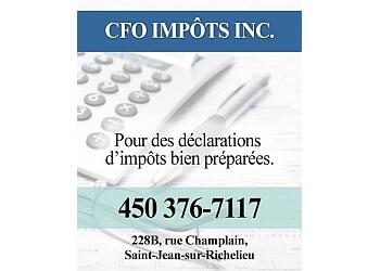 Saint Jean sur Richelieu tax service CFO impots