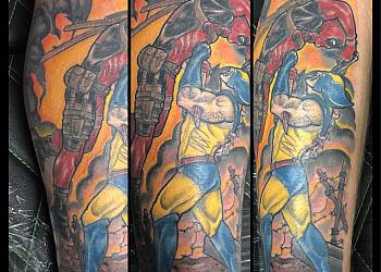 Chilliwack tattoo shop C & G Electric Art Company