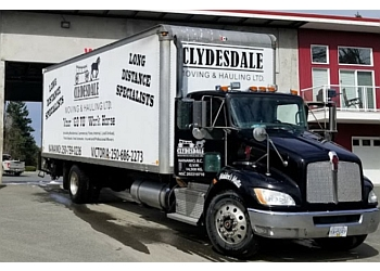 Nanaimo moving company CLYDESDALE MOVING AND HAULING