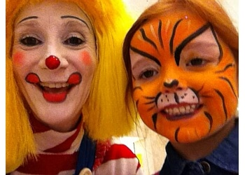 Windsor face painting CLaroL the CLown