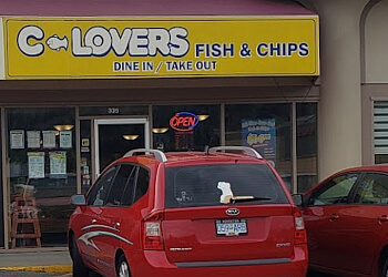 Kelowna fish and chip C-Lovers Fish & Chips