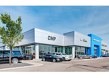 Calgary car dealership CMP Chevrolet Cadillac Buick GMC