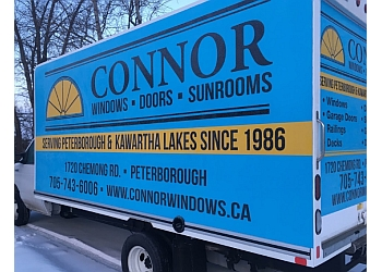 Peterborough window company CONNOR WINDOWS DOORS & SUNROOMS LTD.