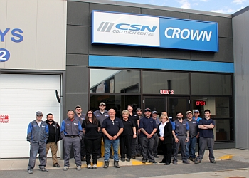 Saint John auto body shop CSN Crown Collision