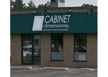 Milton custom cabinet Cabinet Dimensions Inc.
