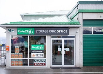 Chilliwack storage unit Cache 21 Mini Storage Ltd.
