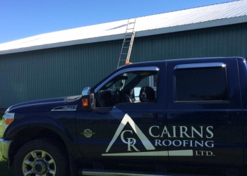 Caledon roofing contractor Cairns Roofing Ltd.