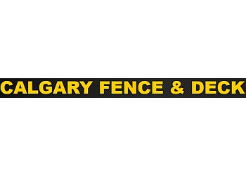 Calgary fencing contractor Calgary Fence & Deck Inc.