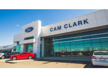 Airdrie car dealership Cam Clark Ford Airdrie