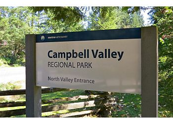 Langley public park Campbell Valley Park