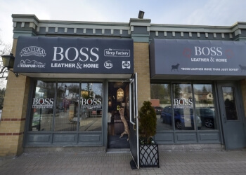 Caledon furniture store Canada's Boss Leather Furniture