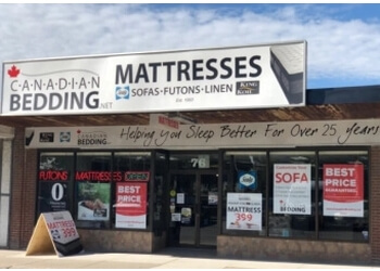 Ajax mattress store Canadian Bedding