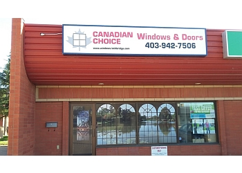 Lethbridge window company Canadian Choice Windows and Doors Inc.