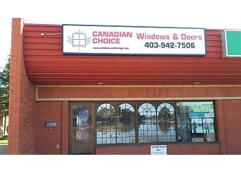 Lethbridge window company Canadian Choice Windows and Doors Inc.