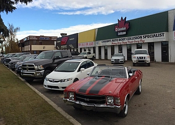 Red Deer auto body shop Canadian Collision