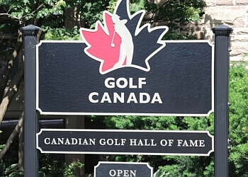 Oakville places to see Canadian Golf Hall of Fame