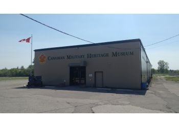Brantford places to see Canadian Military Heritage Museum