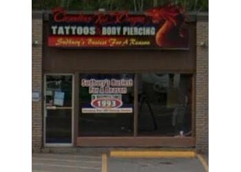 Sudbury tattoo shop Canadian Red Dragon