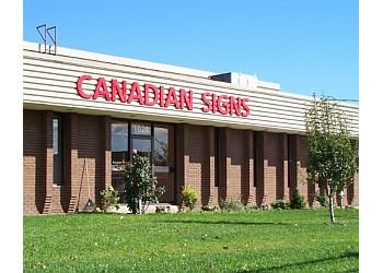 Pickering sign company Canadian Sign Consultants inc.