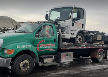 Ottawa towing service Canadian Towing