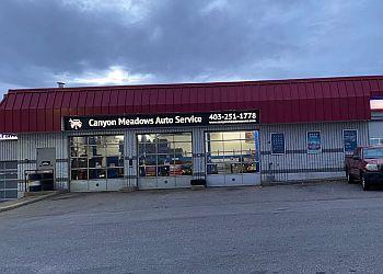 Calgary car repair shop Canyon Meadows Auto Service