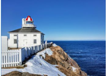 St Johns landmark Cape Spear Lighthouse National Historic Site