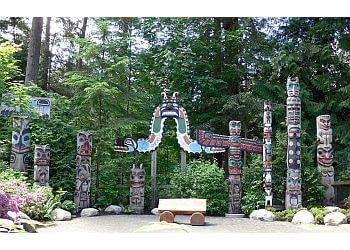 North Vancouver public park Capilano River Regional Park