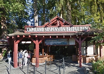 North Vancouver landmark Capilano Suspension Bridge