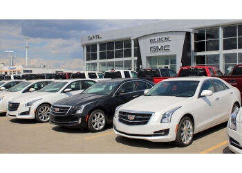 Regina car dealership Capital GMC Buick Cadillac