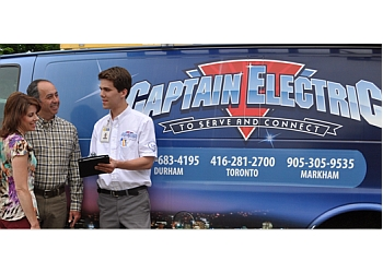 Pickering electrician Captain Electric, Inc.
