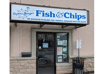 Aurora fish and chip Captain George's Fish & Chips