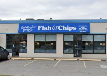 Stouffville fish and chip Captain George's Fish & Chips