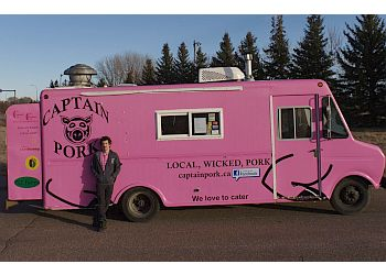 Medicine Hat food truck Captain Pork