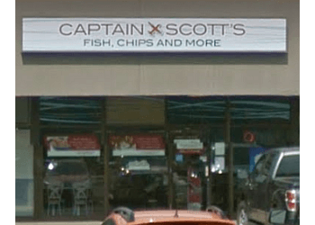 Edmonton fish and chip Captain Scotts Fish & Chips