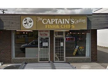 Langley fish and chip Captain's Galley Fish & Chips